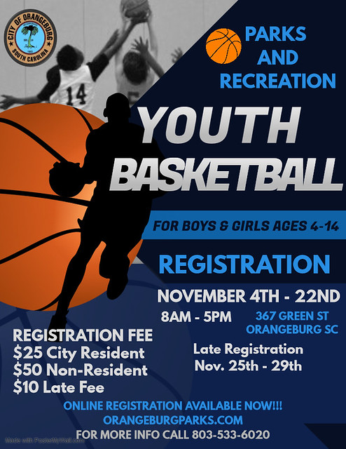 Copy of Basketball Camp Flyer Template - Made with PosterMyWall