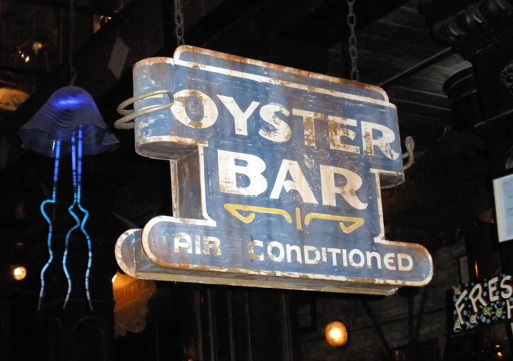 Oyster Bar sign