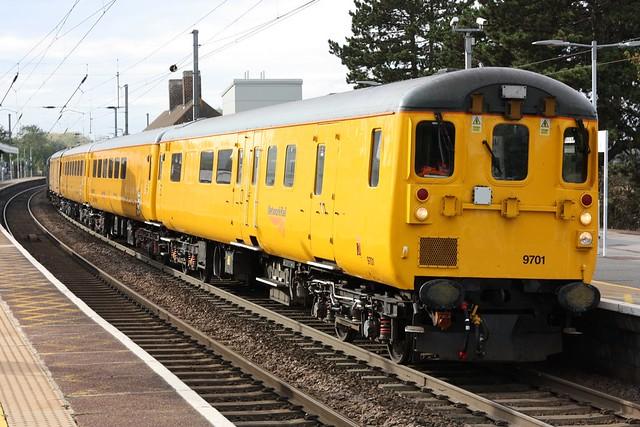 Network Rail Test Train at Manningtree