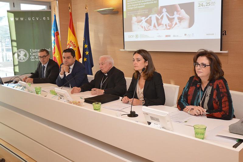 Inauguración del II Congreso Internacional de Derecho de Familia