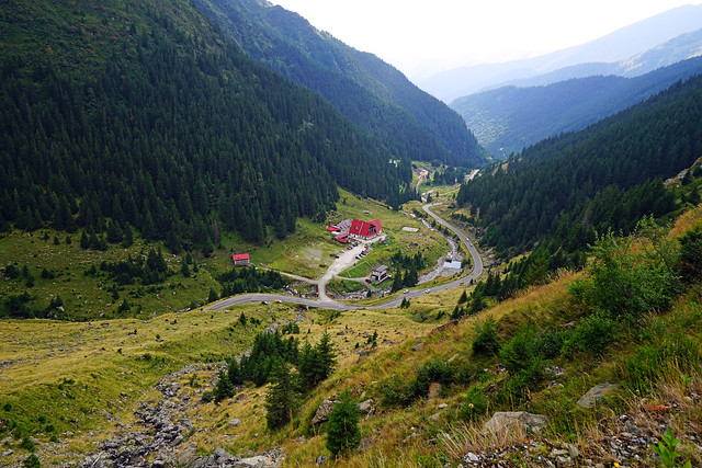 Transfăgărășan road, Romania