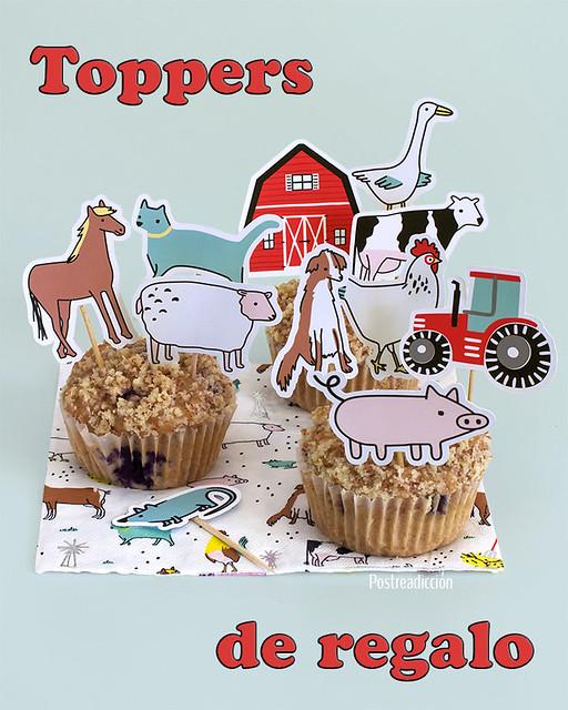 cumpleaños animales granja