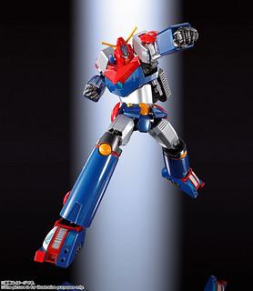 完全可動的電磁力旋風!超合金魂 GX-90 超電磁機器人 孔巴特拉V FULL ACTION 版本(超電磁ロボ コン・バトラーV F.A.)