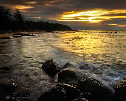 Sunset at Sawlog Point