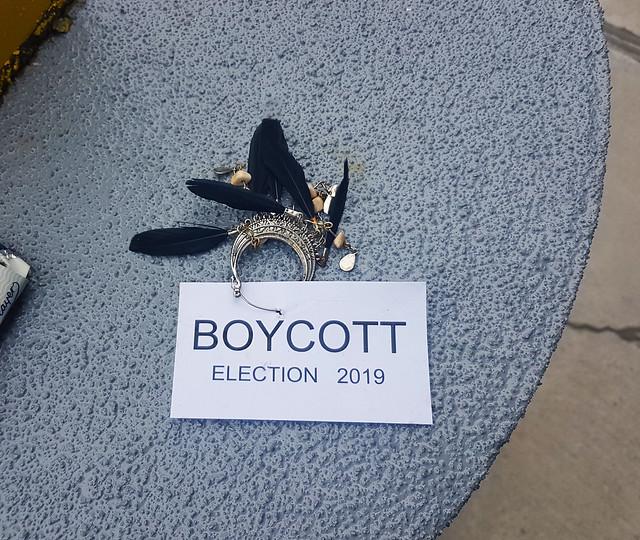 Boycott Election 2019