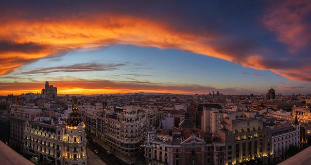 Burning Madrid