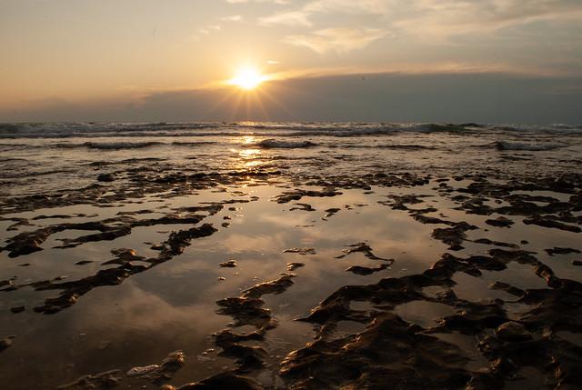 Sunset in Haifa (hof carmel beach)