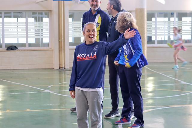 SOCIAL | Agada y Wiliński visitan a la cantera de La Salle