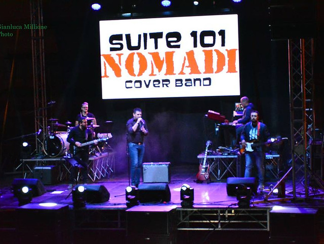 suite 101 cover band Nomadi