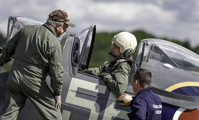Pilot Stu Goldspink