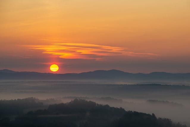 sunrise at its best