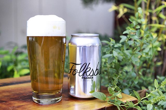 Our first run of German-style Pilsner hopped with Tettnang and Saphir will be available today at 4pm out of the tasting room! We have it on tap and in 4-packs for $11 to go.