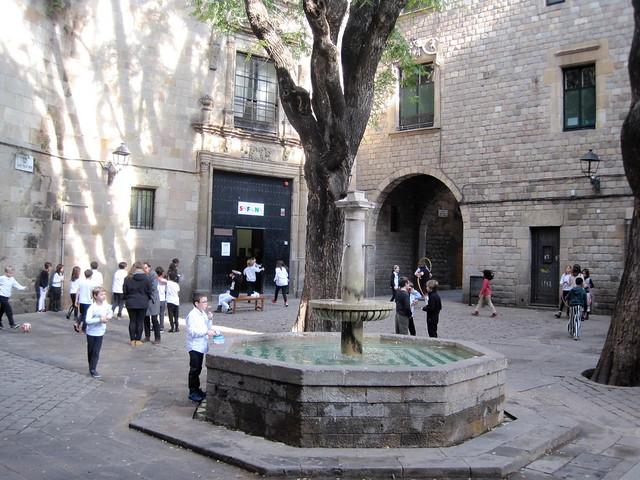 Plaza Sant Felip Neri de Barcelona