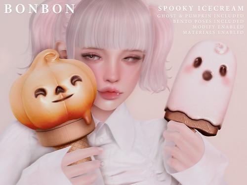 Bonbon - Spooky Icecream @Hocus Pocus
