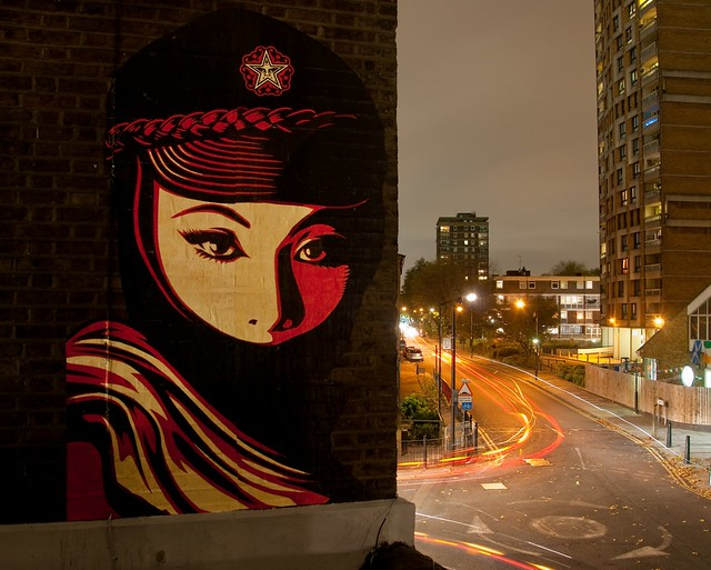 Shepard Fairey - Mujer Fatale, 2012