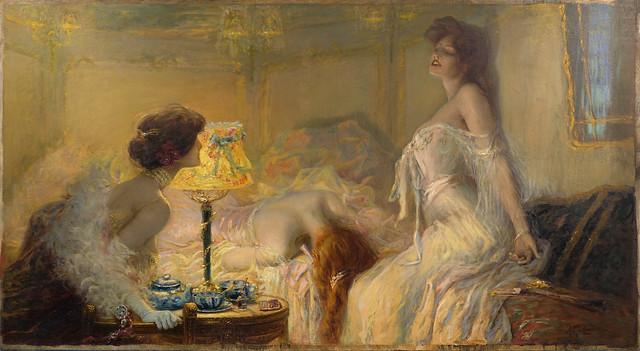 La Morphine par Albert Matignon 1906
