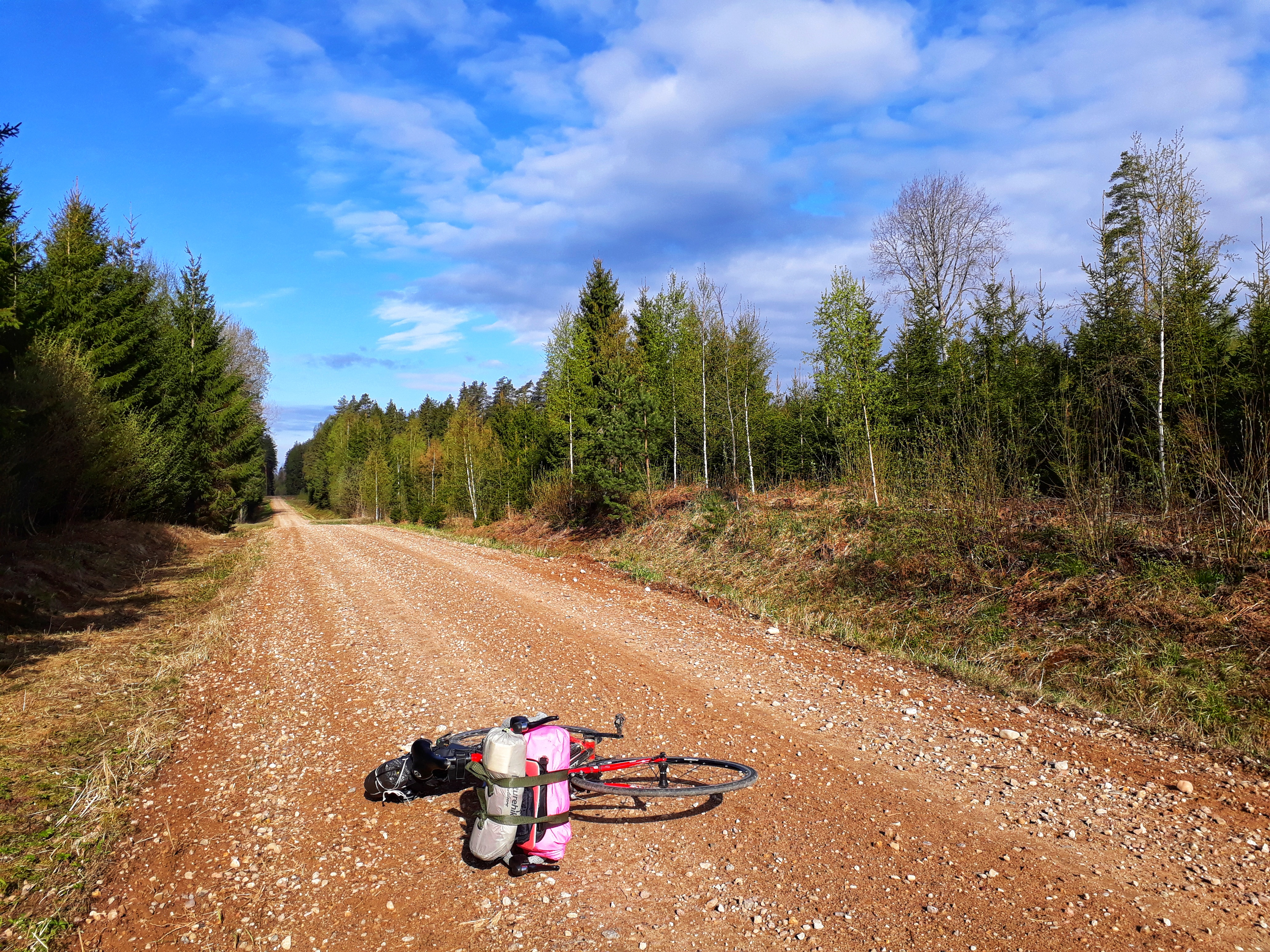 Велопоход по Эстонии
