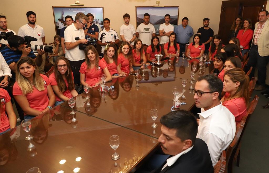 2019-10-24 PRENSA: Uñac recibio a las Selecciones Sanjuaninas de Hockey sobre Cesped
