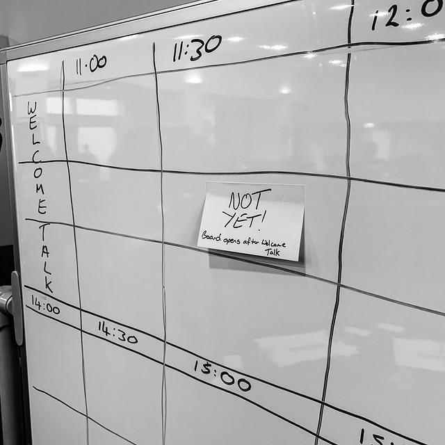 Empty schedule