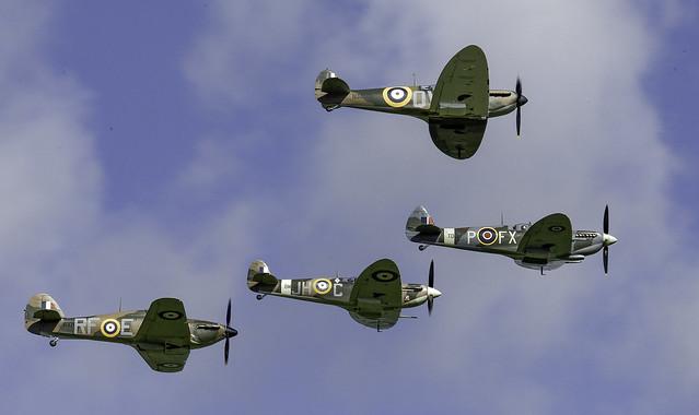 Battle of Britain 75th Anniversary - Goodwood