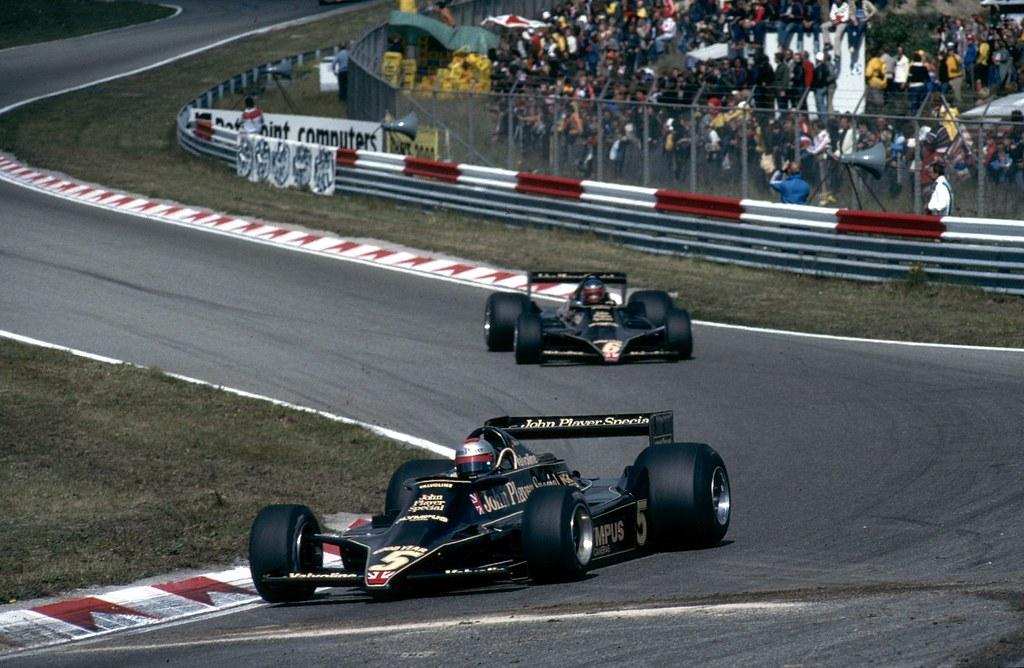Lotus 79 (Mario Andretti e Ronnie Peterson), Zandvoort (A. n/id., 1978)