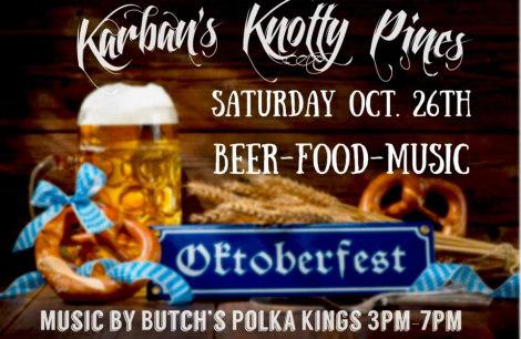 Butch's Polka Kings at Karban's 10-26-19