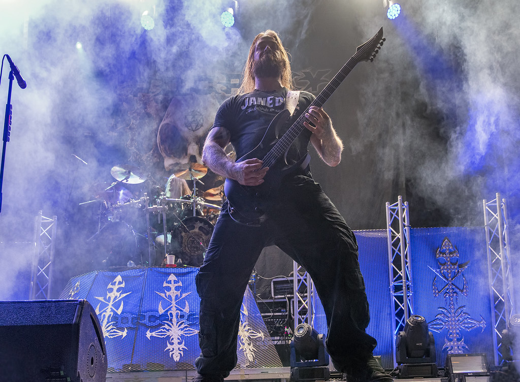 Tomas Elofsson of Hypocrisy @ 2019 Brutal Assault