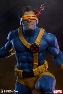 能射出超強雷射的變種人領袖! Sideshow Collectibles Premium Format™ Figure 系列 Marvel Comics【獨眼龍】Cyclops 1/4 比例全身雕像