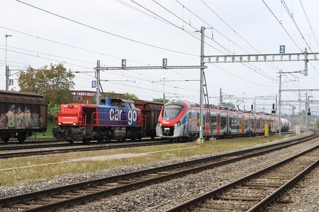 2019-10-23, CFF/SNCF, Vernier-Meyrin Cargo