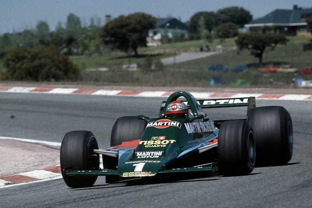 Andretti & Lotus 80, Jarama, 1979 (Motor Sport Images)