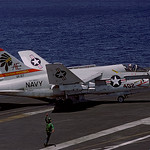A-7E Corsair II 159657 of VA-87 AE-402