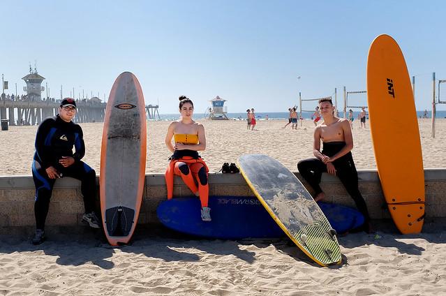 Hunting Beach Surf city USA