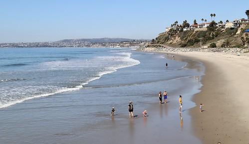 sanclemente heatwave beach beaches october california surf ocean wading
