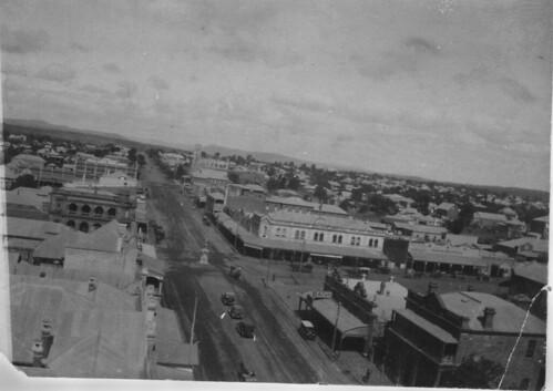 slq queensland australia warwick palmerin street aerial