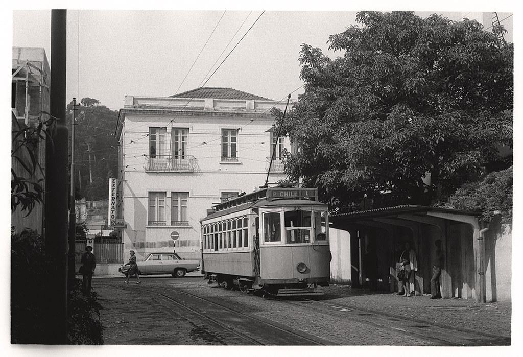 Eléctrico de Benfica, Lisboa (Portimagem, c. 1970)