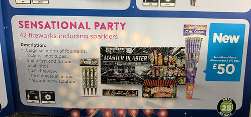 SENSATIONAL PARTY PACK BY ASDA FIREWORKS