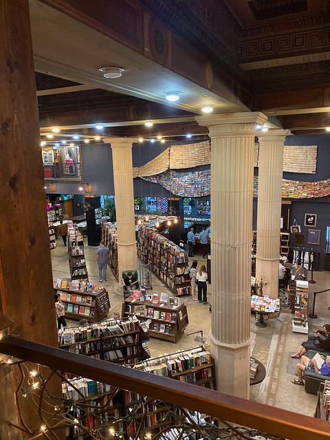 The Last Bookstore: Upstairs