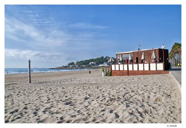 playa y chiringuito