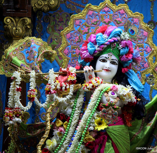 ISKCON Juhu Sringar Deity Dasharn 25th Oct 2019