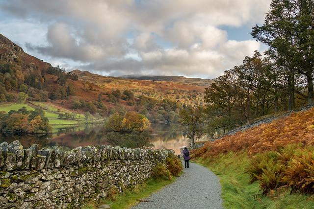 An autumnal walk around Rydal Water