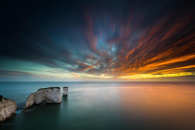 Old Harry Rocks Sunrise - Dorset