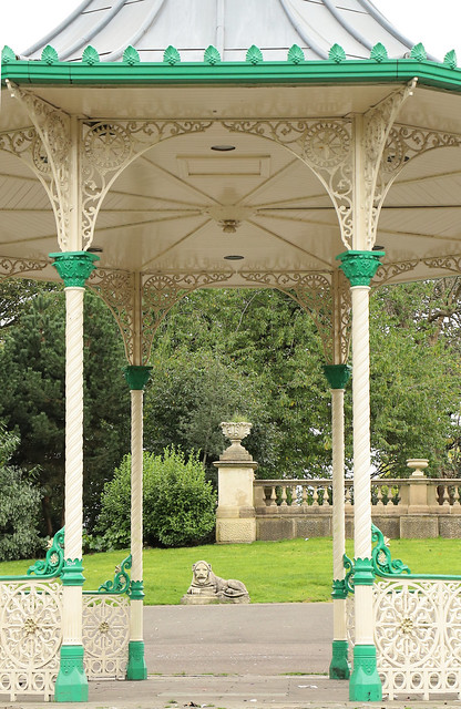 Flickr Friday - Arches.   The bandstand at Leazes Park, Newcastle upon Tyne   IMG_0182