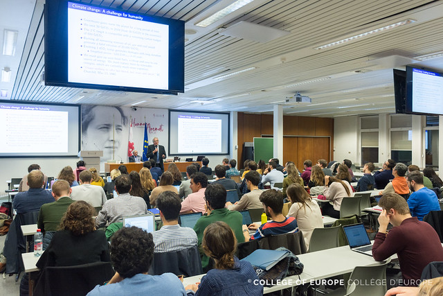 18th European Economy Lecture by Professor Christian GOLLIER.23 October 2019