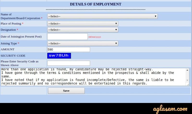 Hartron SETC 2020 Application Form