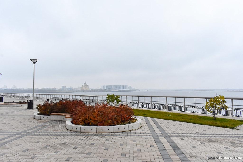 Нижний Новгород: всё плохо, зато по-настоящему пешеходная улица,путешествия,благоустройство,набережная,граффити,Нижний Новгород