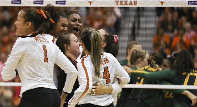 Texas volleyball v Baylor | 10.23.19