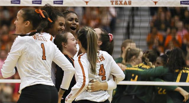 Texas volleyball v Baylor | 10.23.19