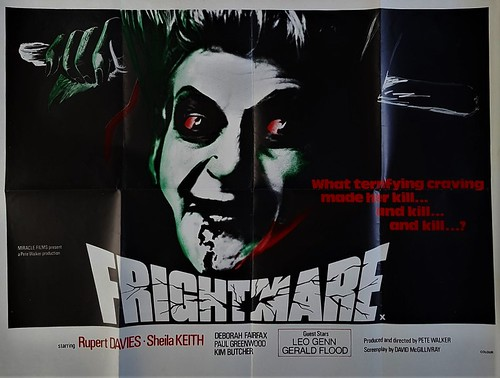 Frightmare - Original UK Quad poster - Pete Walker - 1974