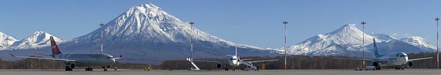 Elizovo airport, apron