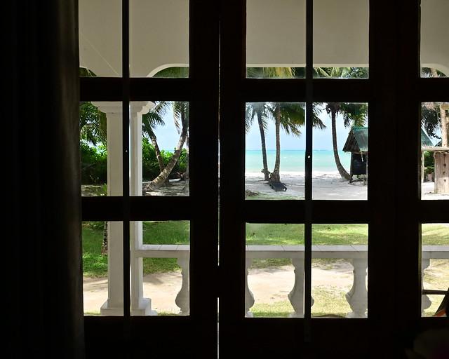 Nuestro alojamiento en Praslin, Seychelles